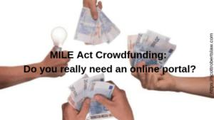 MILE Act Crowdfunding_