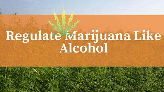 """""""Regulate Marijuana Like Alcohol"""
