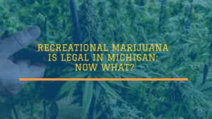 Recreational Marijuana is Legal