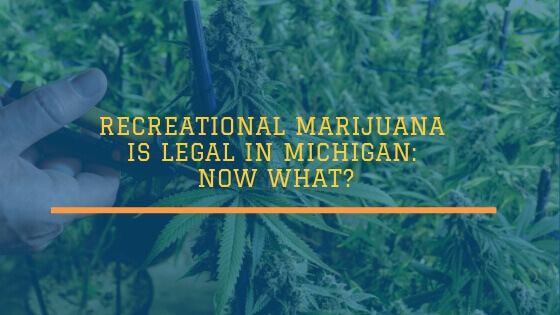 Recreational Marijuana is Legal