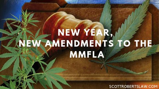 Amendments to the MMFLA
