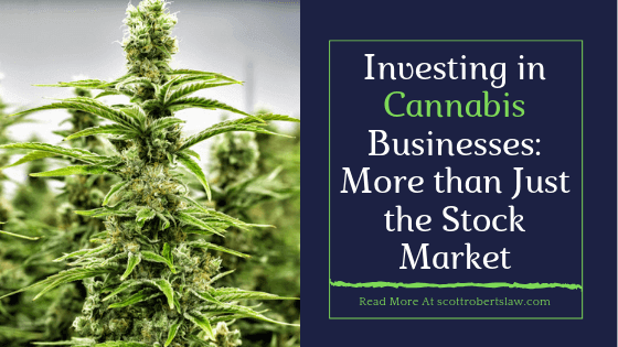 Investing in Cannabis Businesses